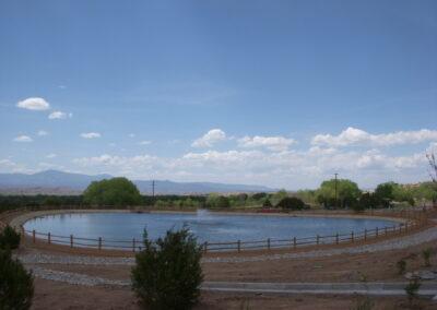 Nambe Irrigation Lake